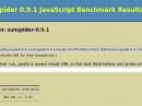 Sunspider 0.9.1: Firefox 18