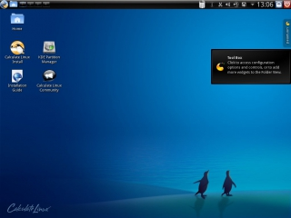Calculate Linux 11.0 KDE-Version Desktop