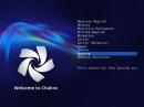 Chakra GNU/Linux 2012.10 Bootscreen