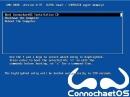 ConnochaetOS 0.9.1 Bootscreen