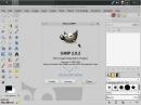 CrunchBang Linux 11 GIMP 2.8