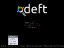 DEFT Linux 6 Bootscreen