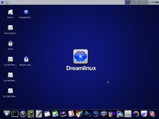 Dreamlinux 5 Desktop