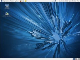 Fedora 14 Gnome Desktop