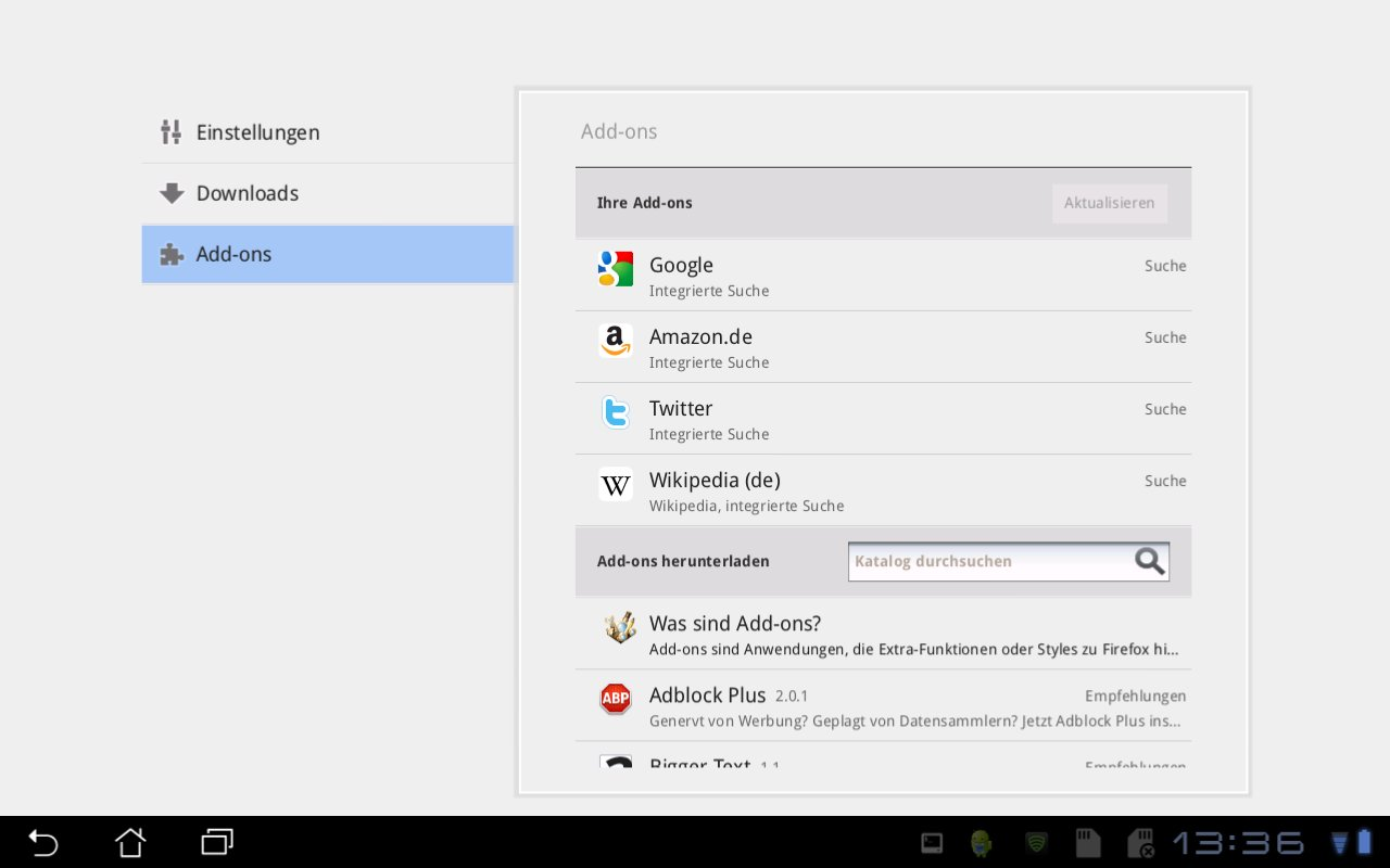 android tablet how to add exodus