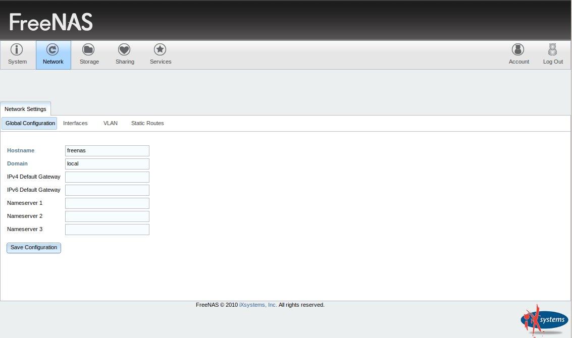 FreeNAS 8 » Linux | Spiele | Open-Source | Server | Desktop