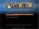 GeeXboX 3.0 Bootscreen