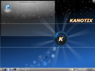 Kanotix 2011-03 Hellfire Desktop