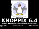 Knoppix 6.4.3 DVD-Edition Bootscreen