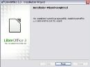 LibreOffice 3.3 Installation beendet