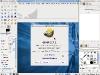 Linux Fusion 14 Gimp 2.7