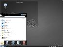 Linux Mint 10 KDE Menü