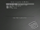 Linux Mint 10 LXDE Bootscreen