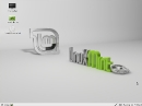 Linux Mint 11 Katya Desktop