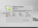 Linux Mint 13 Willkommen