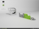 Linux Mint 14 Cinnamon Desktop