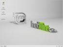 Linux Mint 14 Xfce Desktop