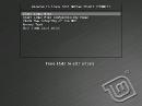 Linux Mint 201012 Debian Bootscreen