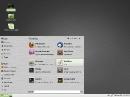 Linux Mint 201012 Debian Menu