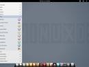 LuninuX OS 12.10 Menü