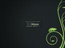 openSUSE 12.3 KDE Bildschirmsperre
