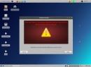 PCLinuxOS Phoenix Edition 2012-02 Installation Warnung