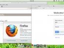 Pear Linux 5 Firefox Chrome