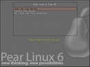 Pear Linux 6 Bootscreen