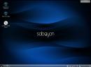 Sabayon Linux 11 KDE Desktop