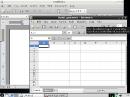 Sabayon Linux 6 LXDE Abiword und Gnumeric