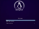 Semplice Linux Bootscreen