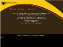 SliTaz GNU/Linux Cooking 20110329 Bootscreen