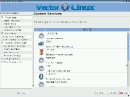 VectorLinux 7.0 Systemdienste