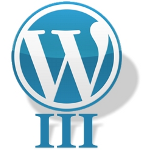 Wordpress 3 Logo