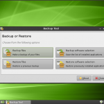 Linux Mint 9 Isadora LXDE Backup Tool