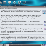 Puppy Linux 5.1 Begrüßung