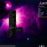 ArchBang Linux 2010.09 Menu