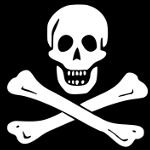 Jolly Roger Pirat 150x150