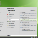 Linux Mint 9 Debian Office
