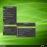 Linux Mint 9 Fluxbox Internet