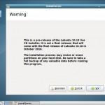 Lubuntu 10.10 Maverick Meerkat Installation