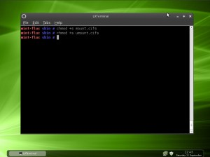 Linux Mint 9 Fluxbox pyNeighborhood