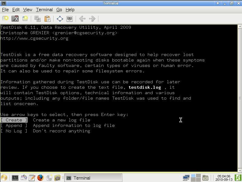 TestDisk gehört schon lange zum Inventar der Rettungs-Distribution und das hat sich auch mit SystemRescueCd 4.3.7 nicht geändert
