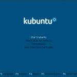 Kubuntu 10.10 Maverick Meerkat Startbildschirm