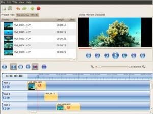 OpenShot Videobearbeitung