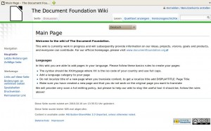 The Document Foundation Wiki