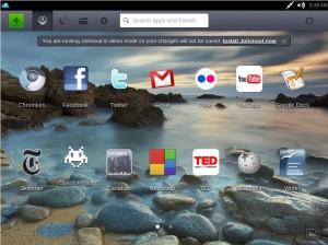 Jolicloud: lokale Desktop-Umgebung