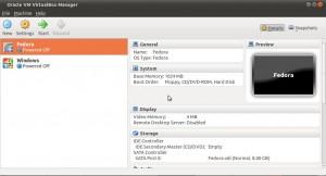 VirtualBox 4.0 Benutzeroberfläche