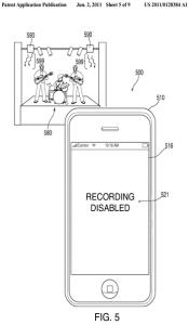 Apple Patent: Kamera abschalten mit Infrarot
