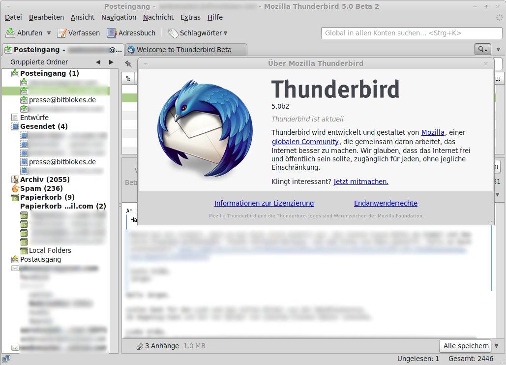 mozilla thunderbird 5.0 download